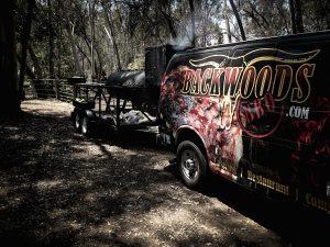 Backwoods BBQ Catering Van
